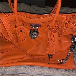 Michael Kors Large Hamilton in a beautiful orange